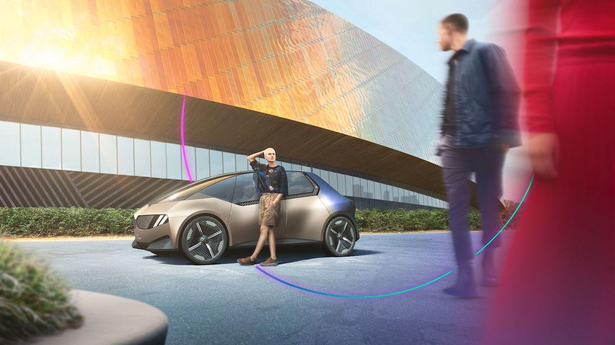 Takto má vypadat kompaktní BMW v roce 2040. Koncept je zcela recyklovatelný