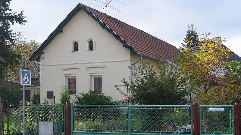 Stránčice čp. 9., rodný dům Emila Kolbena