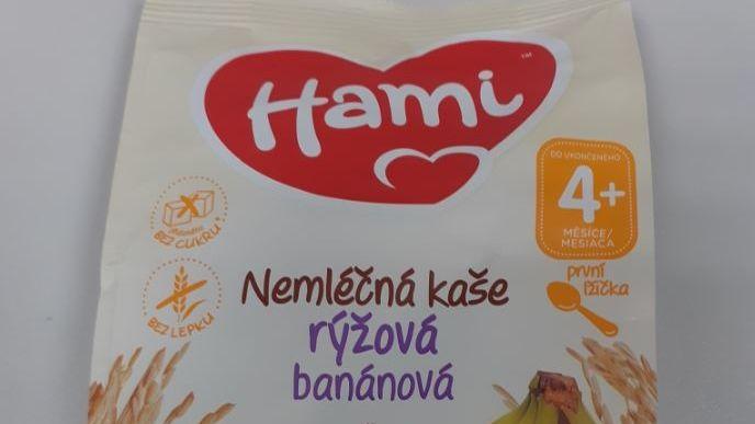 Nemléčná kaše Hami se salmonelou se dostala i do Česka, varuje inspekce