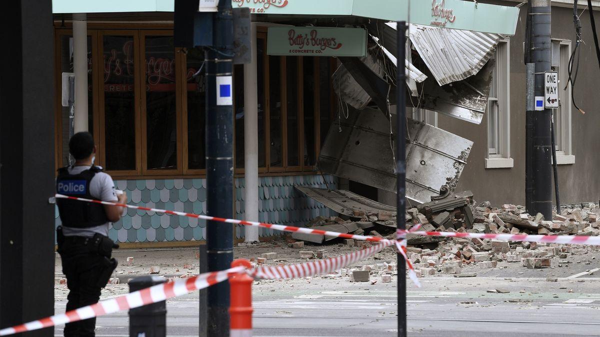 Austrálii postihlo silné zemětřesení
