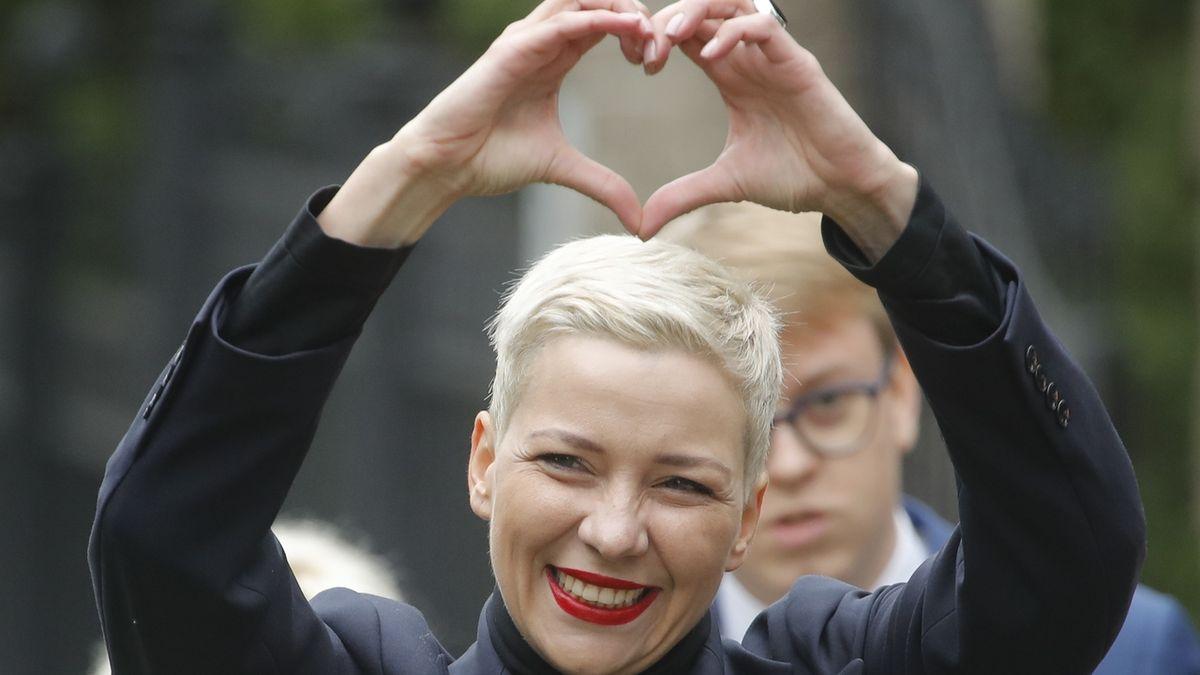 Cenu Václava Havla letos získala Maryja Kalesnikavová z Běloruska