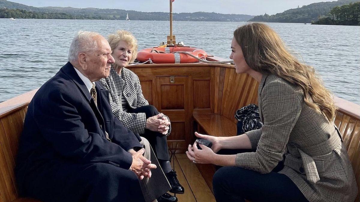 Vévodkyně Kate se setkala s přeživšími z Terezína