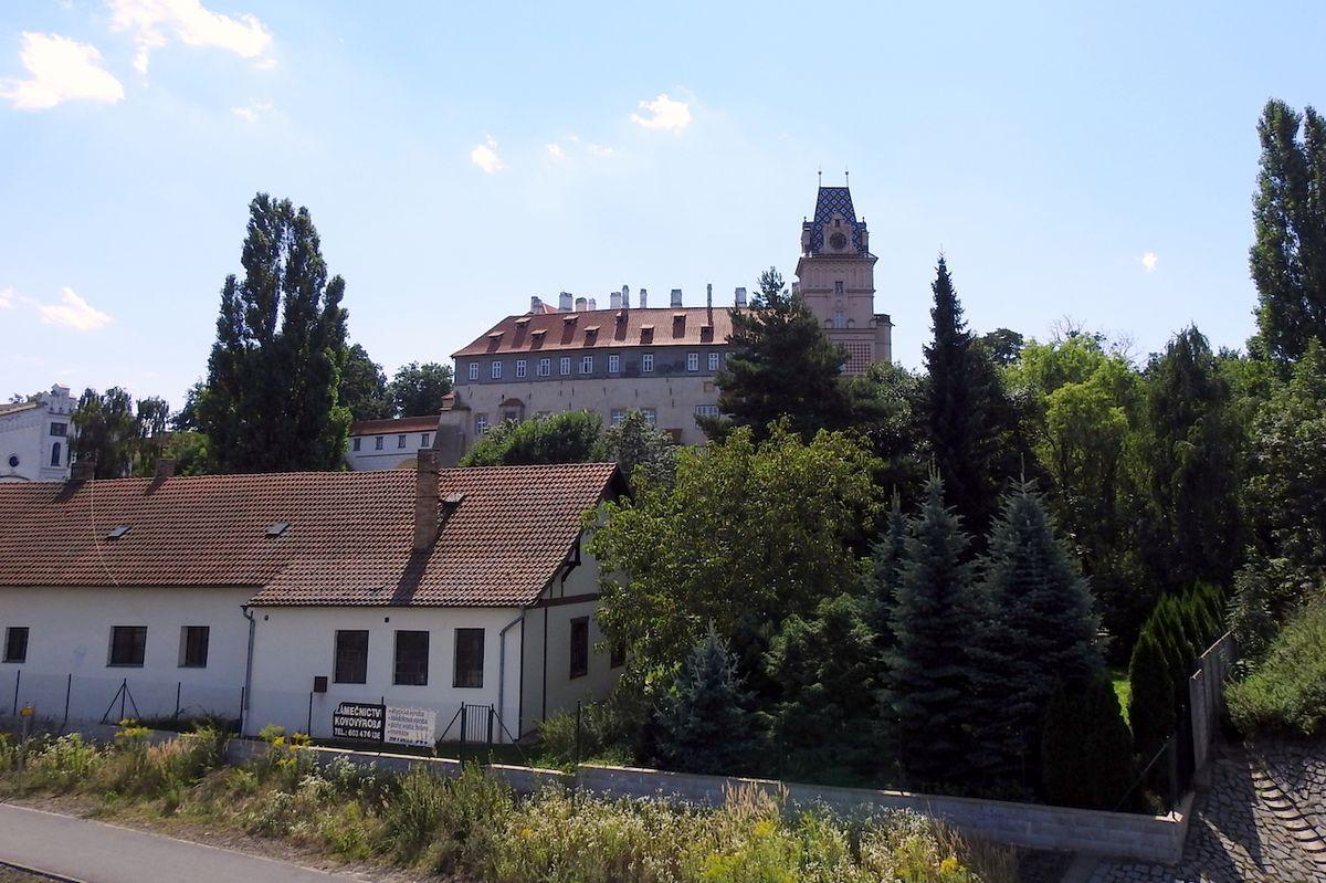 Příjemná habsburská rezidence, zámek v Brandýse nad Labem