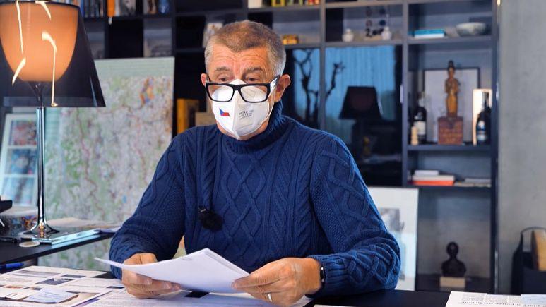 Andrej Babiš (ANO) v pořadu Čau, lidi