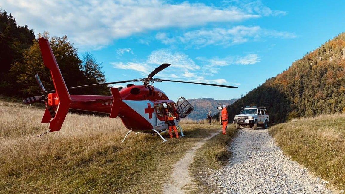 Slovenští záchranáři poblíž místa tragické smrti českého turisty