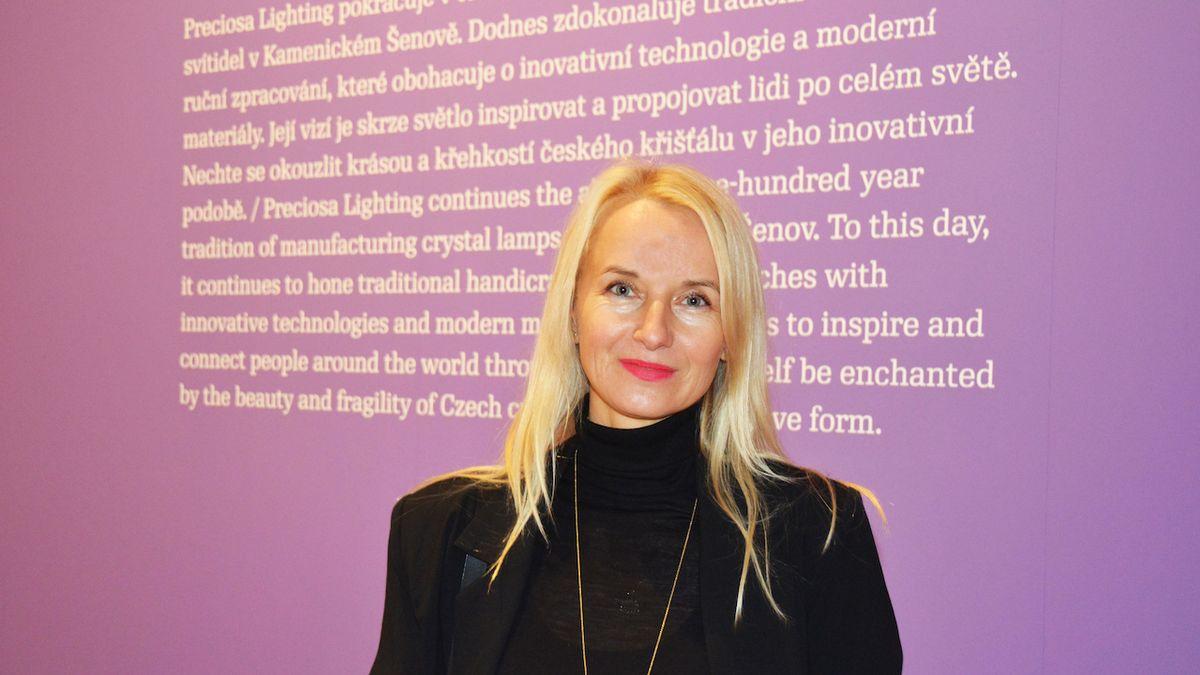 Ředitelka festivalu Designblok Jana Zielinski