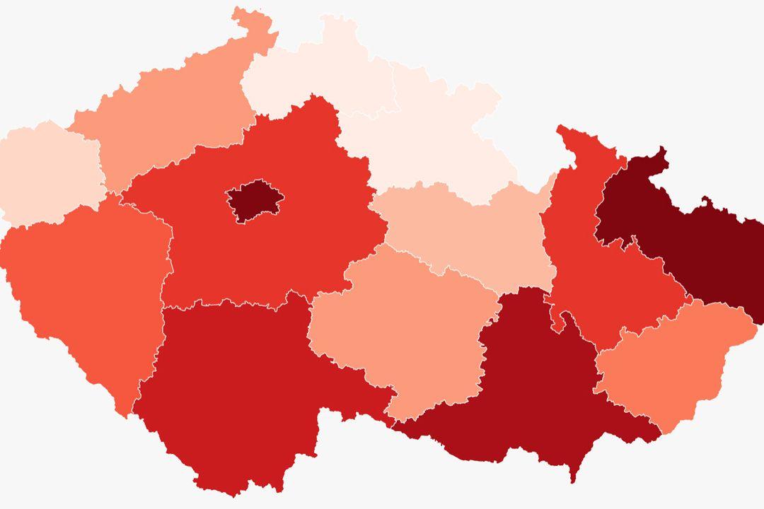ON-LINE: Počet nakažených v ČR stoupá, za pátek jich přibylo 824