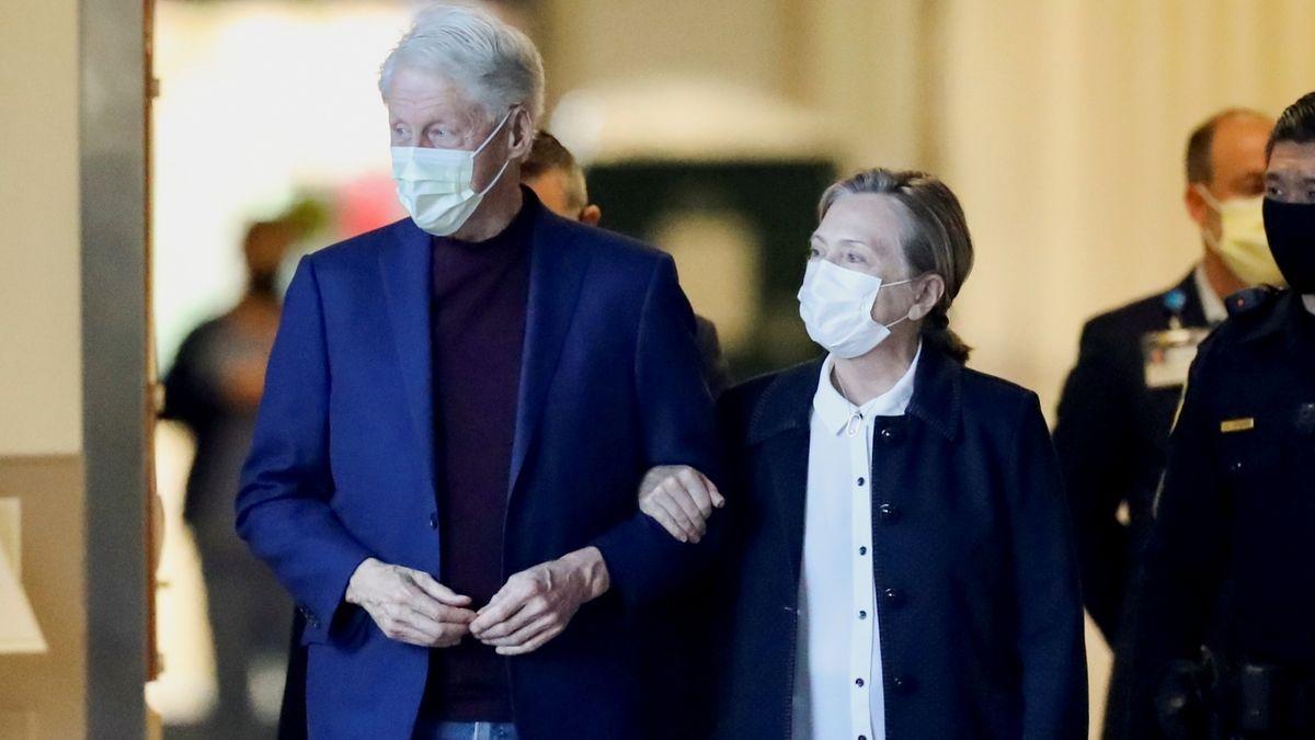 Bill Clinton opustil nemocnici