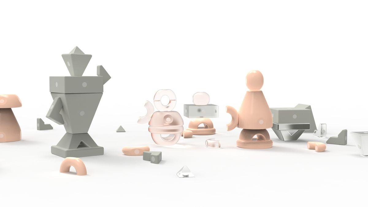 Terapeutická hračka od Katalin Pataki z Maďarska má díky příjemným tvarům a barvám pomoci s křivdami z dětství.