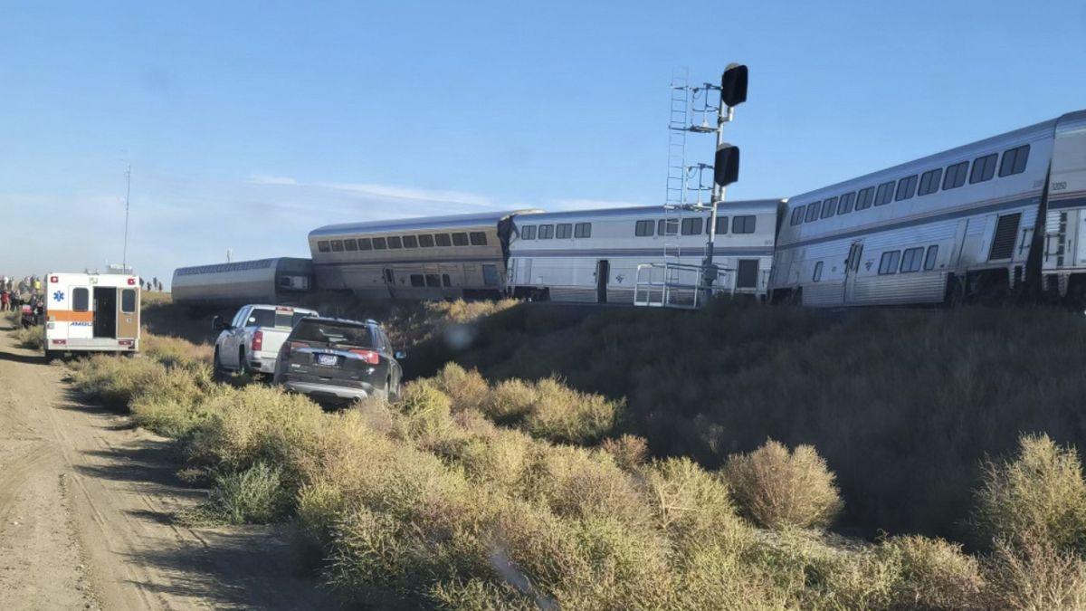 V Montaně vykolejil vlak, tři mrtví