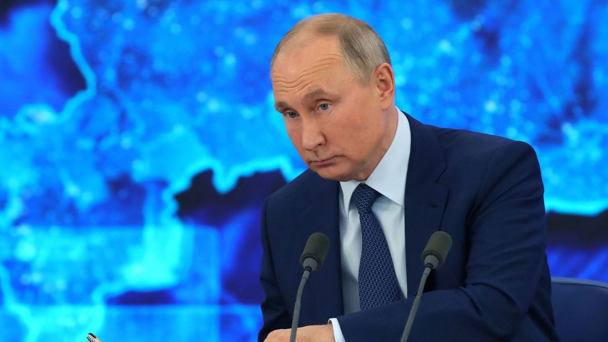 Putin kontroval Bidenovi říkankou