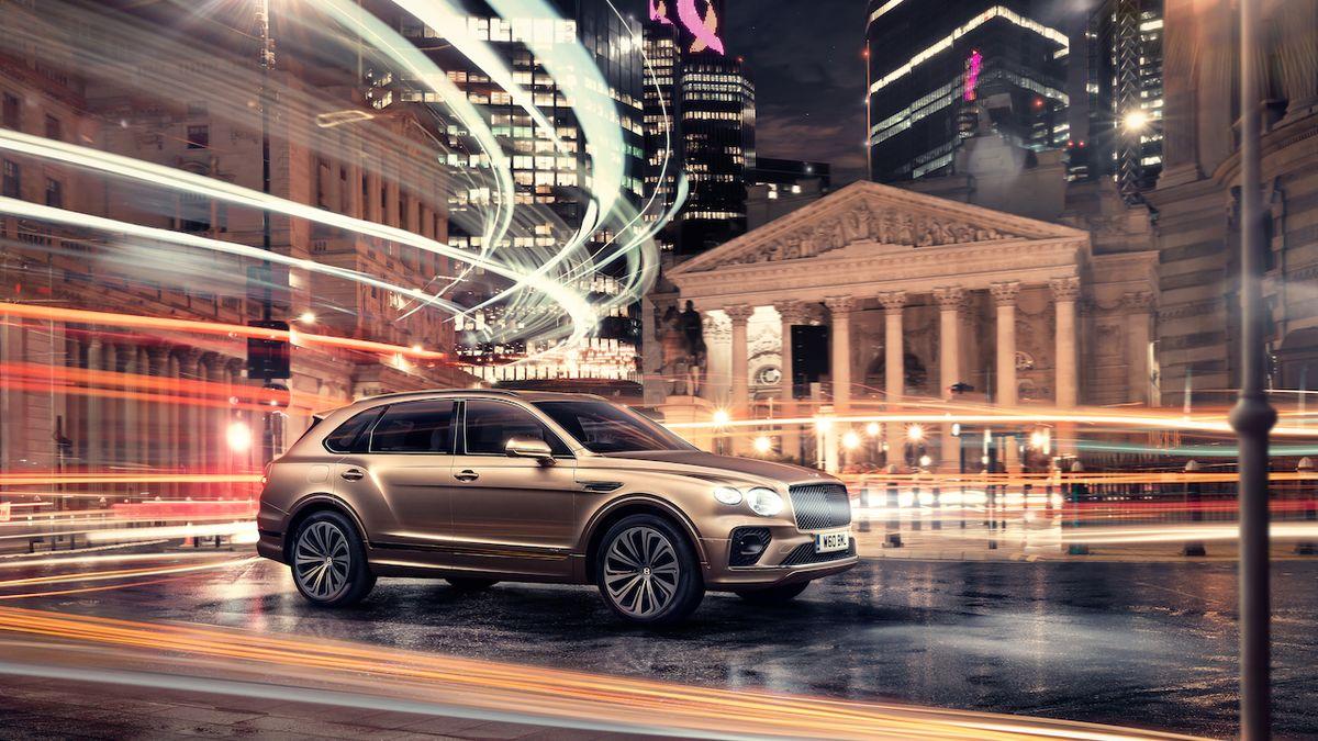 Bentley Bentayga do zásuvky má po faceliftu