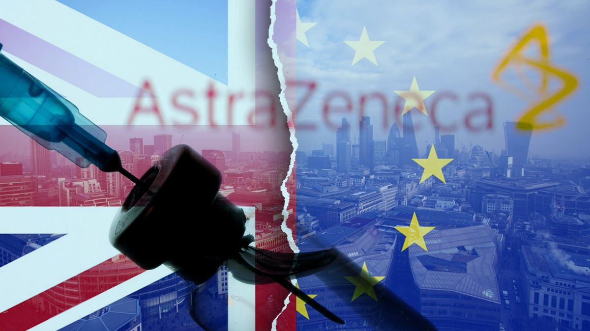 Mezi EU a Británií se rozhořela válka o vakcíny