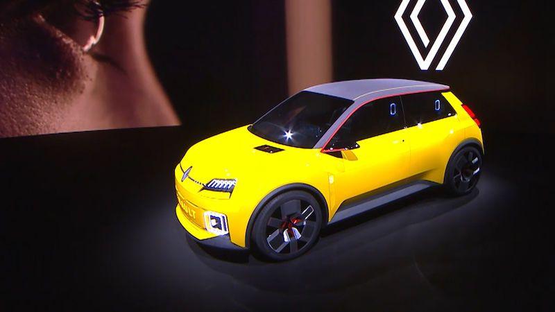 Renault 5 se vrací jako retro koncept elektromobilu