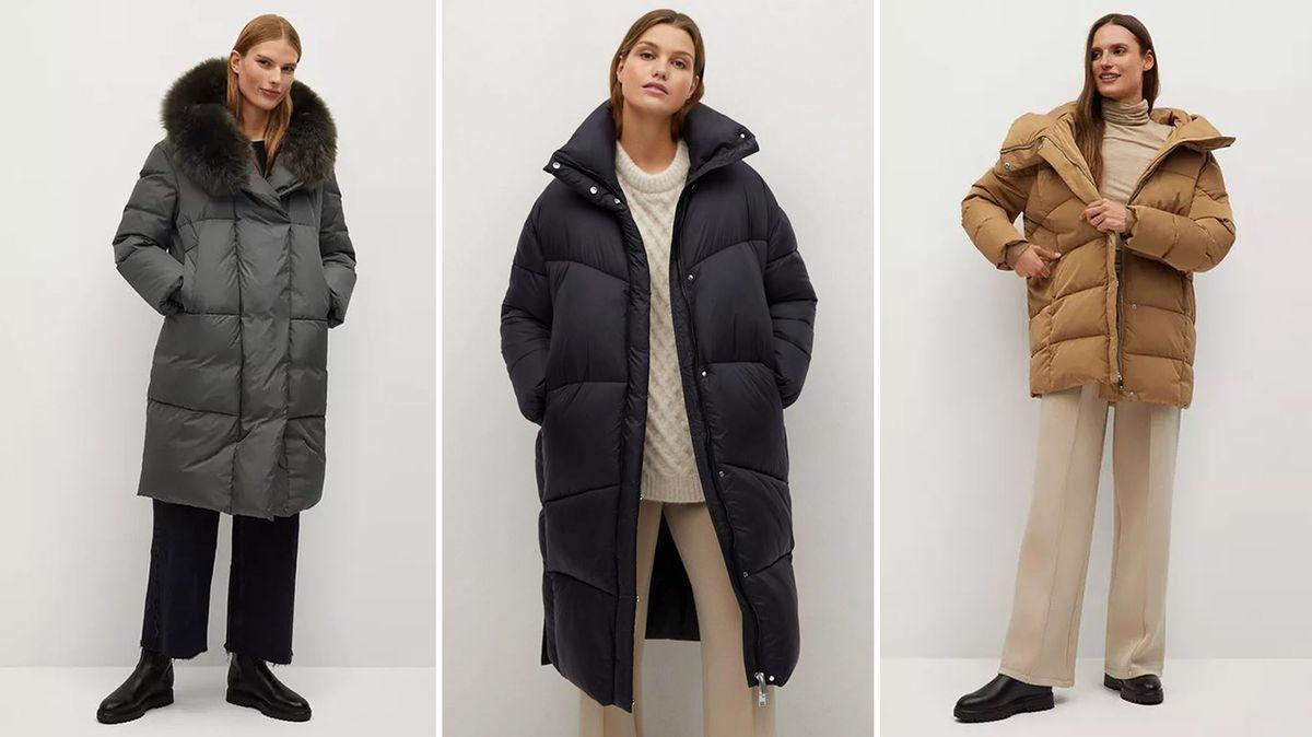 Vyzrajte nad mrazem díky prošívanému kabátu