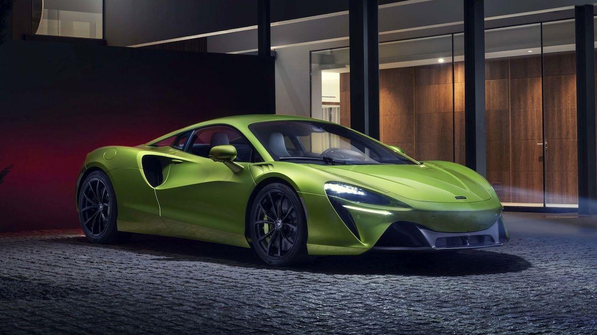 McLaren ukázal nový hybrid, jmenuje se Artura a má neobvyklý šestiválec