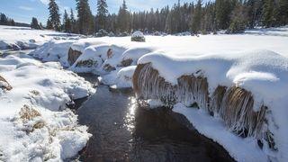 Teplotní skok: Na Šumavě se oteplilo o víc než 40 stupňů