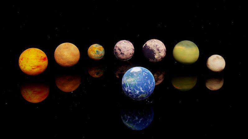 U sedmi exoplanet velikosti Země odhalili astronomové podobné složení