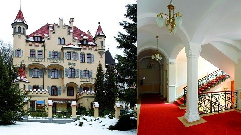 Vila Ritter, jedna z nejkrásnějších staveb v Karlových Varech, má rytířského ducha