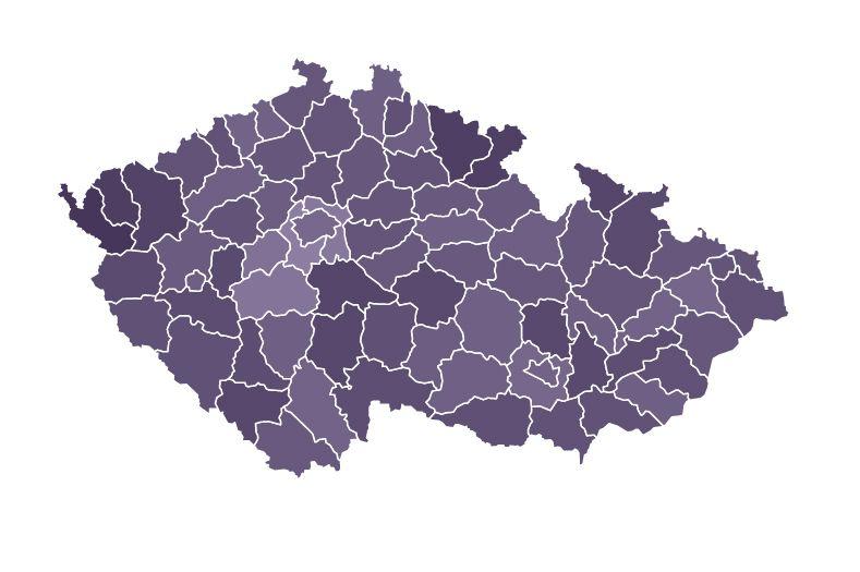 V Česku už zase umírá kolem 200 nakažených denně