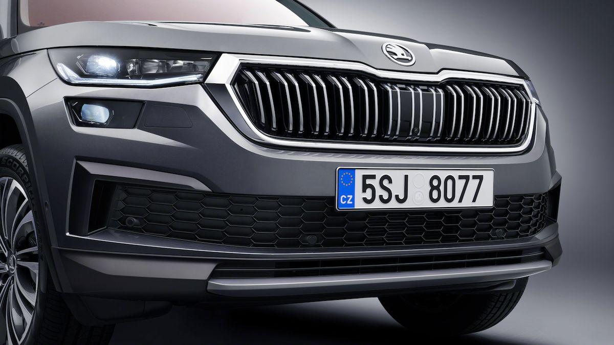 Líbila by se vám nová Škoda Kodiaq jako kupé? Ilustrátor ji ukazuje