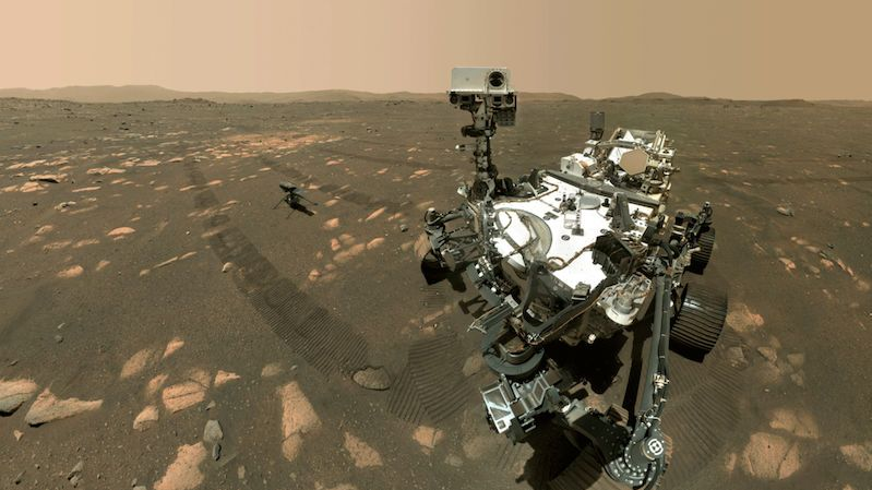 První odběr vzorků na Marsu se roveru Perseverance nezdařil. Materiál byl příliš jemný