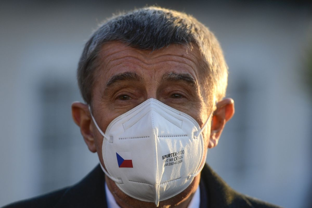Premiér Andrej Babiš (ANO) ¨