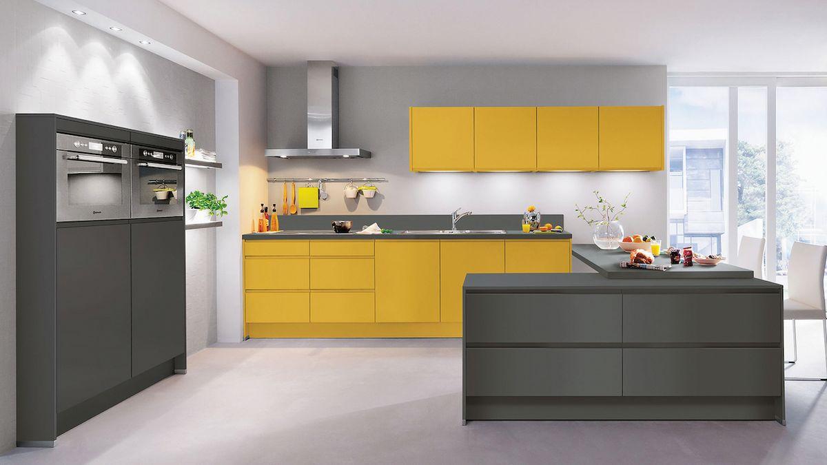 Nebojte se barev v kuchyni
