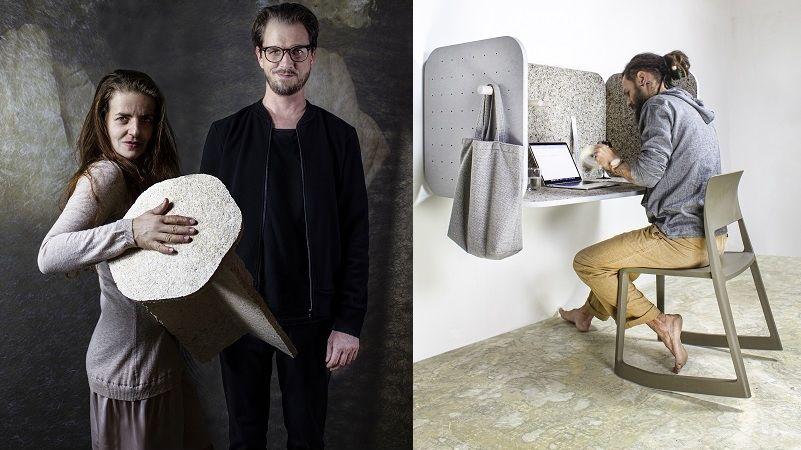 Pracovní stanice s příměsí mechu a lišejníku patří k nejlepšímu českému designu