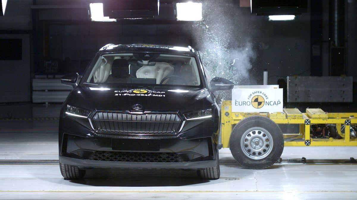 Škoda Enyaq prošla nárazovými zkouškami
