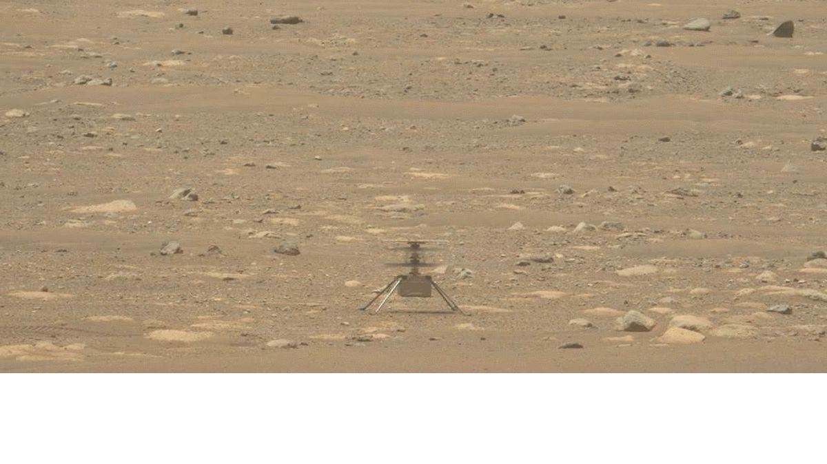 NASA zveřejnila zvukový záznam vrtulníčku na Marsu