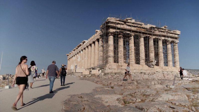 V athénské Akropoli vybetonovali cestu. Bezbariérový přístup vyvolal pozdvižení