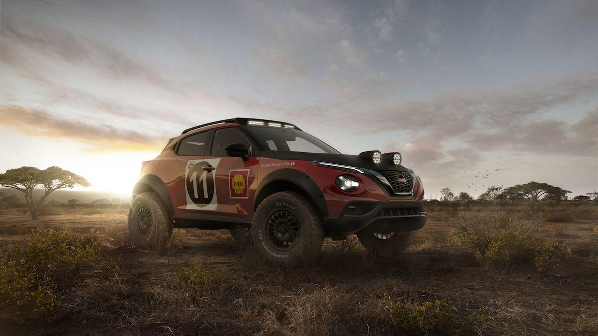 Divoký koncept Nissanu Juke odkazuje na slavné rally auto