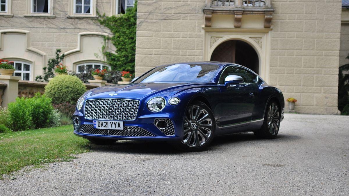 Test Bentley Continental GT V8 Mulliner: Když okřídlené B nestačí