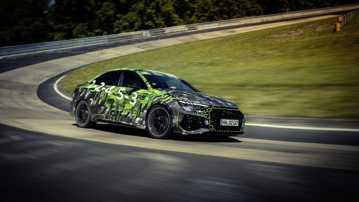 Audi RS 3 má rekord na Nordschleife, je nejrychlejším kompaktem