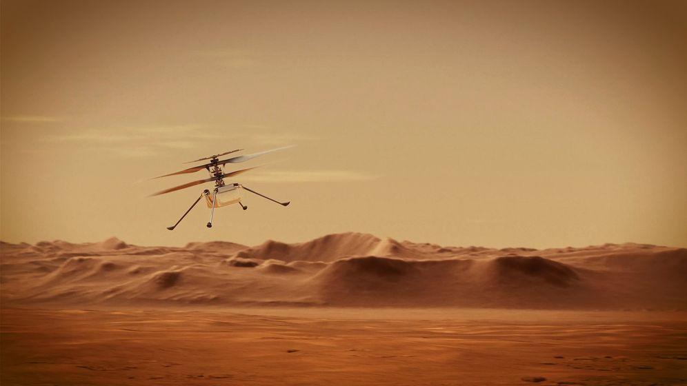 Vrtulníček Ingenuity se při 12. letu na Marsu překonal