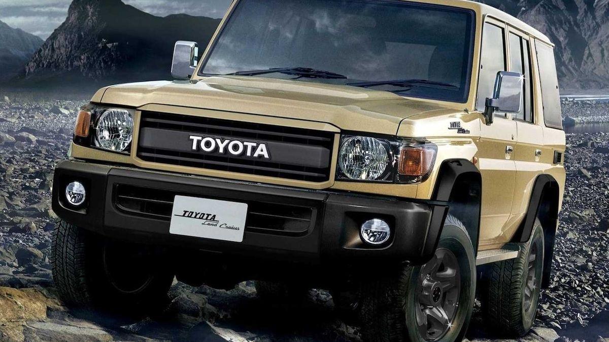 Speciální edice slaví 70 let Toyoty Land Cruiser. Původní model vznikl pro americkou armádu