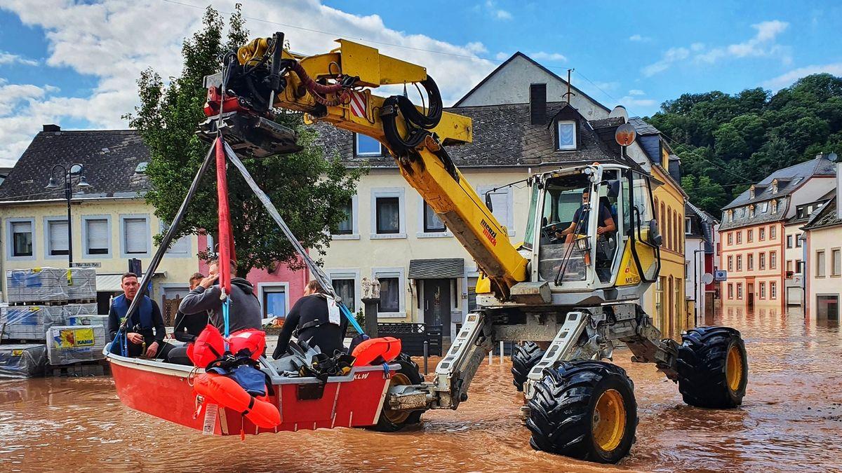 Bouřky jsou pomalejší. Záplavy v Evropě budou 14x častější, tvrdí studie