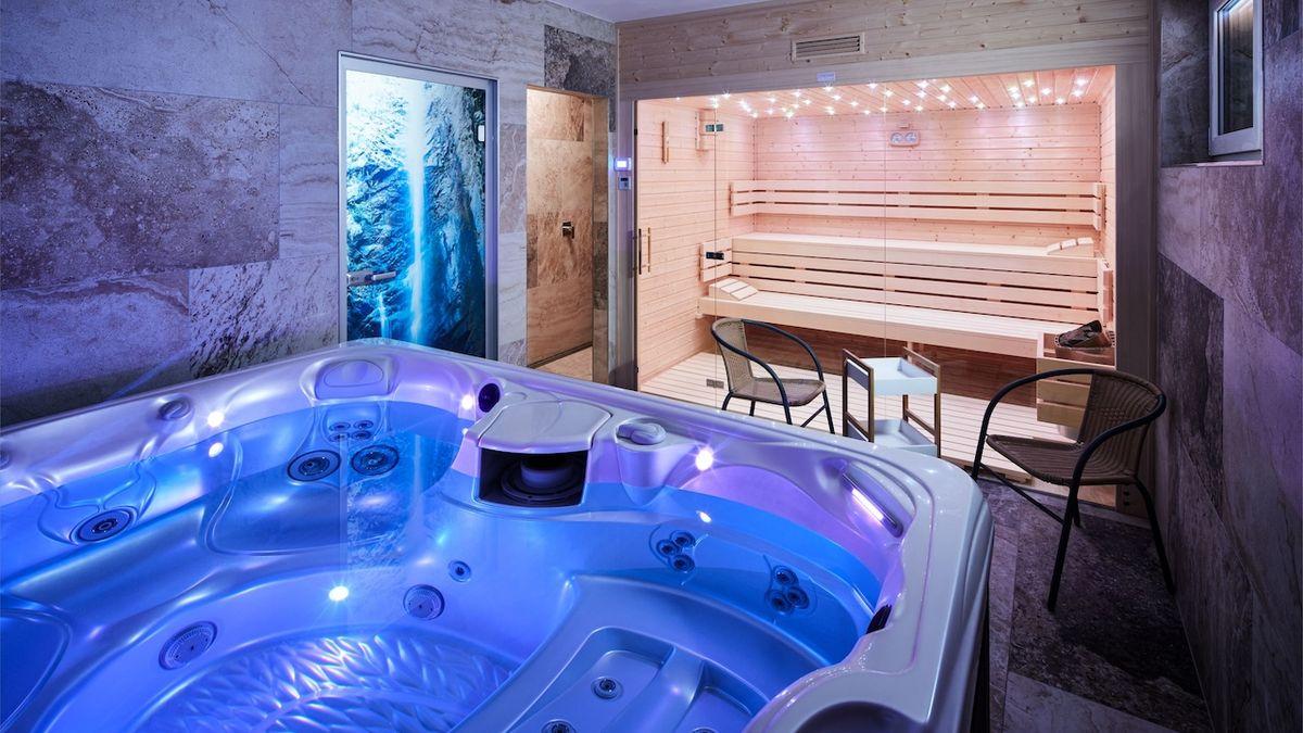 V sauně a ve vířivce vyplavíte stres