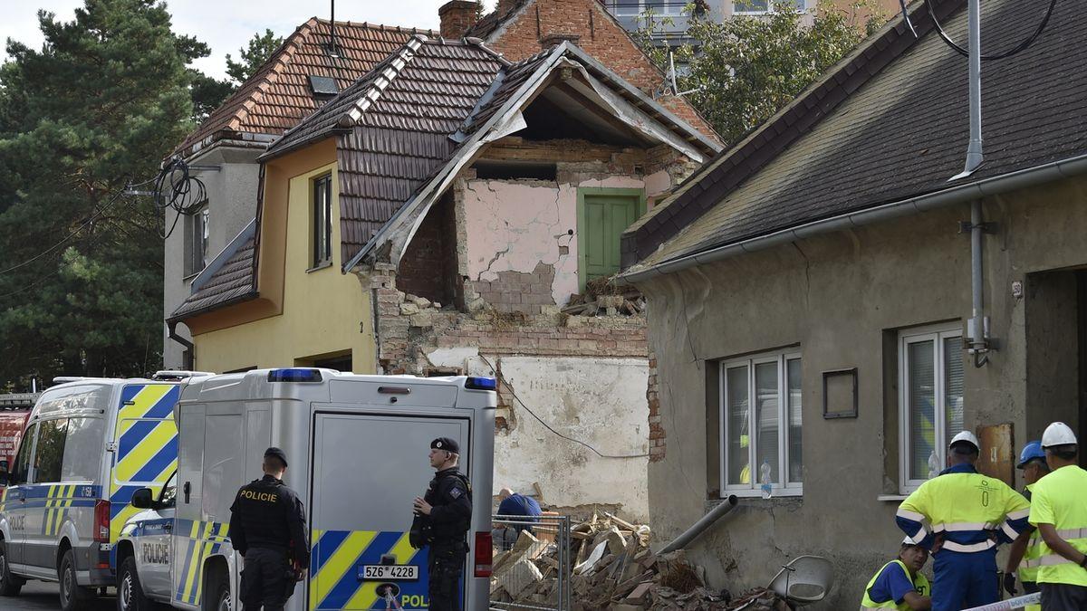 Jeden z domů v Koryčanech je po výbuchu neobyvatelný, rozhodl statik