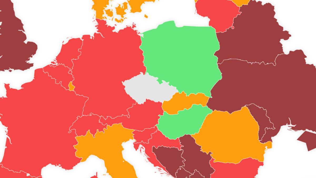 Chorvatsko, Rakousko a Irsko na semaforu zčervenají