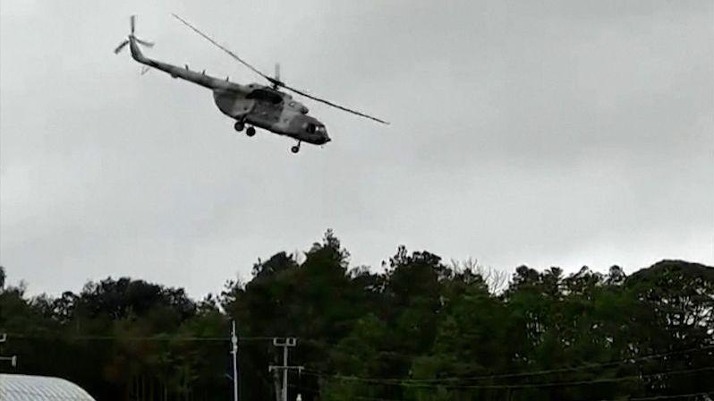 Na Kamčatce havaroval vrtulník, podle médií patřil tajné službě