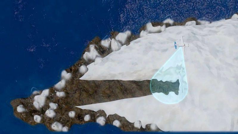 Vědci objevili pod grónským ledem obří kaňon a dávná jezera