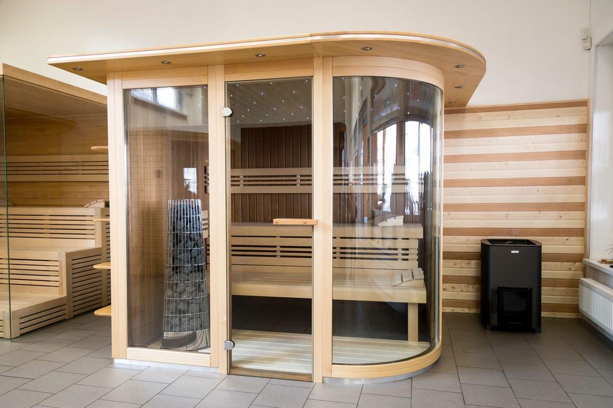 Finskou saunu lze vyrobit na míru.