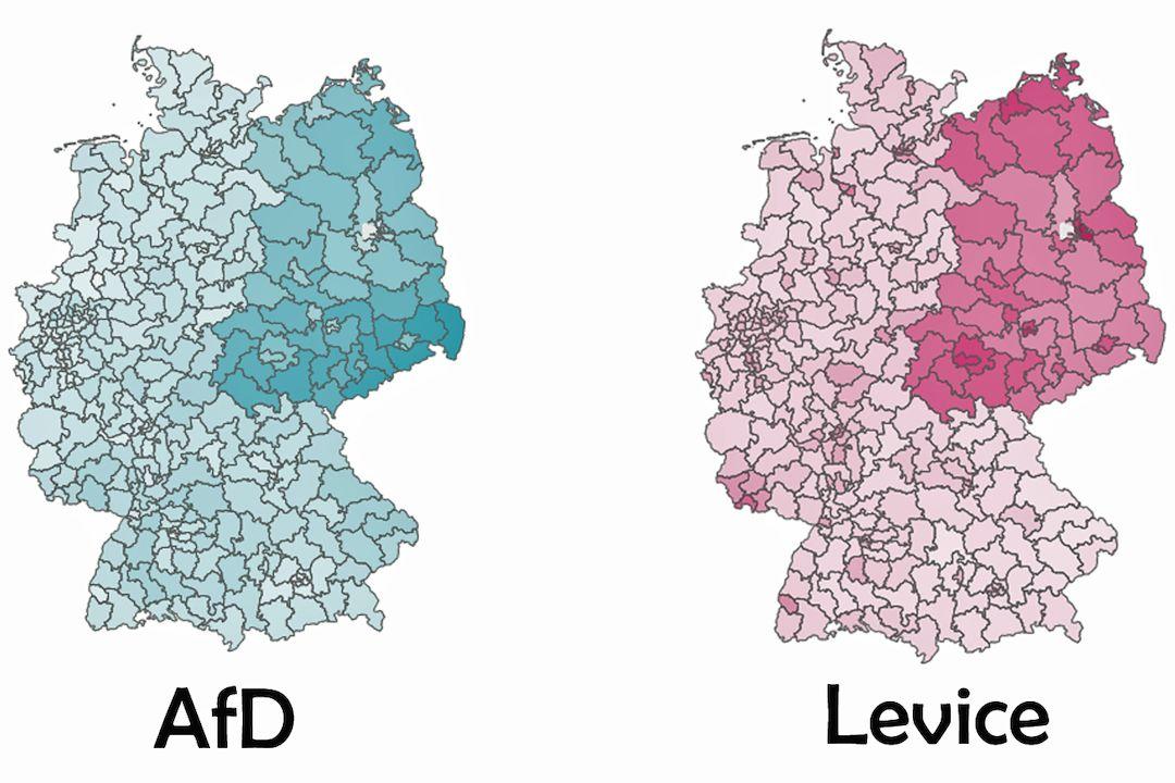 NDR existuje i 31 let po sjednocení, ukazují výsledky voleb