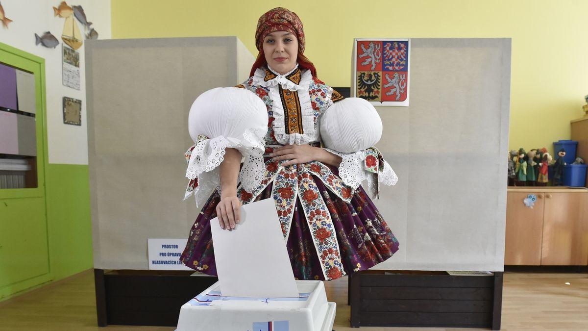 Volby v Polešovicích na Uherskohradišťsku