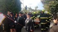 V Koryčanech se v sobotu rozloučili s druhým ze zemřelých hasičů