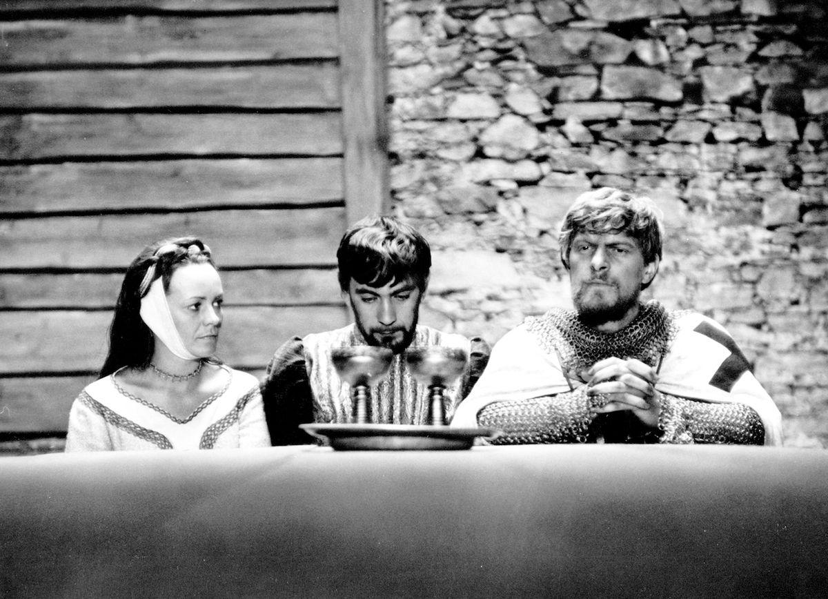 S Věrou Galatíkovou a Petrem Čepkem hrál ve Vláčilově Údolí včel (1967).
