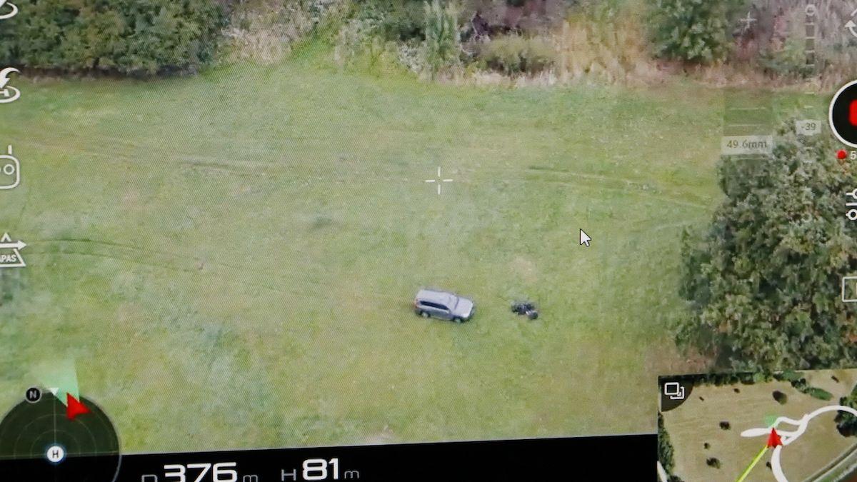 Pomocníkem v odhalování nelegální migrace jsou pro policii drony