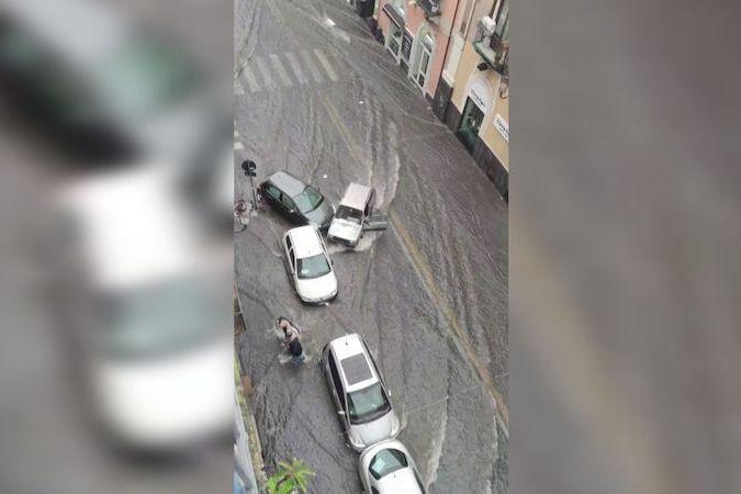 Záplavy na Sicílii